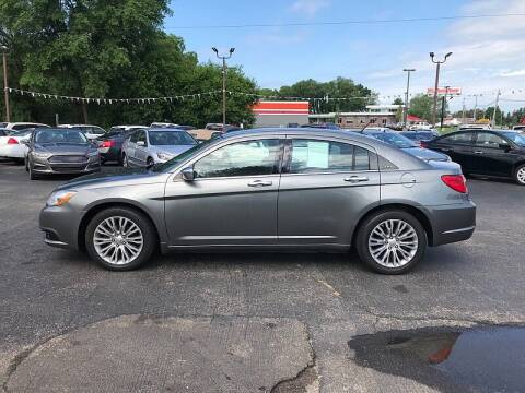 2012 Chrysler 200 for sale at Car Zone in Otsego MI