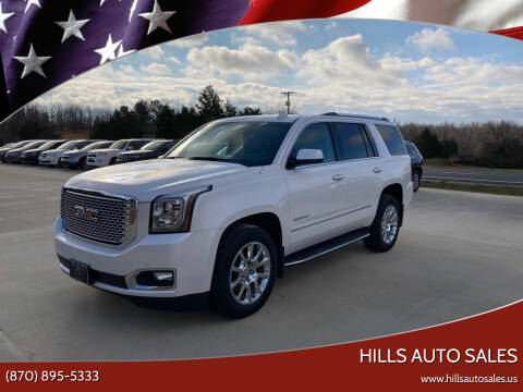 2016 GMC Yukon for sale at Hills Auto Sales in Salem AR