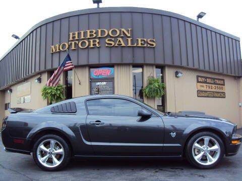 2009 Ford Mustang for sale at Hibdon Motor Sales in Clinton Township MI