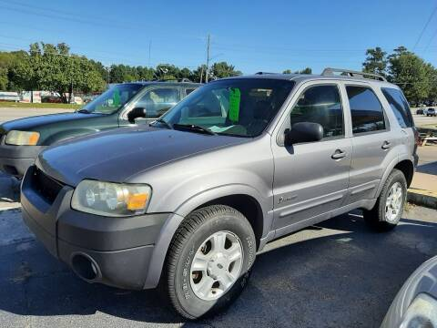 2007 Ford Escape Hybrid for sale at All Star Auto Sales of Raleigh Inc. in Raleigh NC