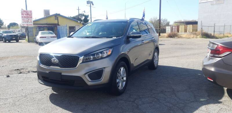 2016 Kia Sorento for sale at Autosales Kingdom in Lancaster CA