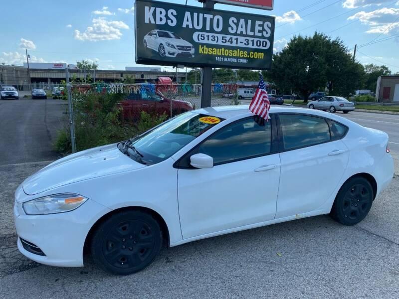 2014 Dodge Dart for sale at KBS Auto Sales in Cincinnati OH