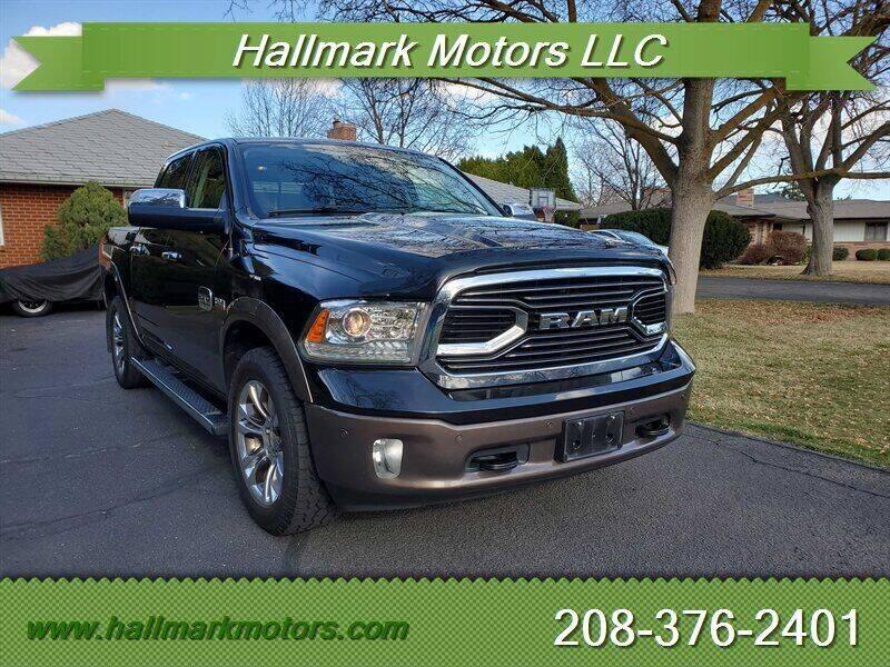 2017 RAM Ram Pickup 1500 for sale at HALLMARK MOTORS LLC in Boise ID