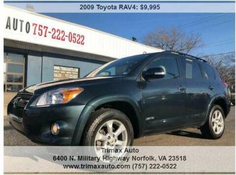 2009 Toyota RAV4 for sale at Trimax Auto Group in Norfolk VA
