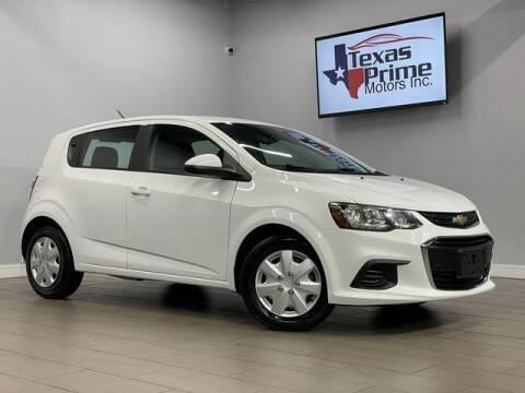 2017 Chevrolet Sonic for sale at Texas Prime Motors in Houston TX