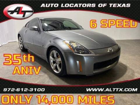 2005 Nissan 350Z for sale at AUTO LOCATORS OF TEXAS in Plano TX