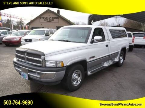 1994 Dodge Ram Pickup 2500 for sale at Steve & Sons Auto Sales in Happy Valley OR