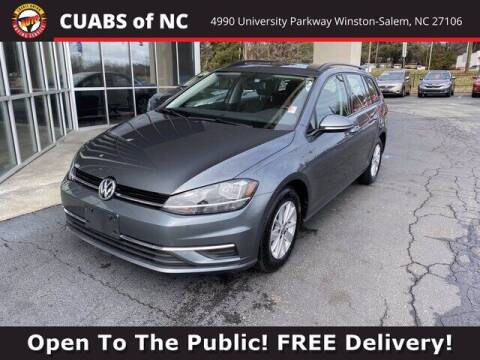 2019 Volkswagen Golf SportWagen for sale at Credit Union Auto Buying Service in Winston Salem NC