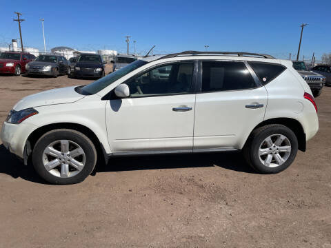2007 Nissan Murano for sale at PYRAMID MOTORS - Fountain Lot in Fountain CO
