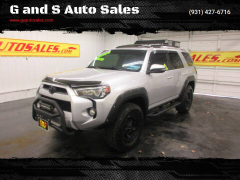 2015 Toyota 4Runner for sale at G and S Auto Sales in Ardmore TN