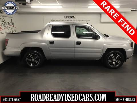 2012 Honda Ridgeline for sale at Road Ready Used Cars in Ansonia CT