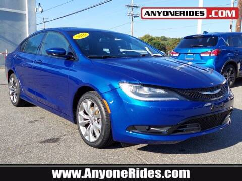 2016 Chrysler 200 for sale at ANYONERIDES.COM in Kingsville MD