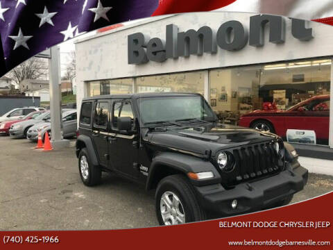 2020 Jeep Wrangler Unlimited for sale at BELMONT DODGE CHRYSLER JEEP RAM in Barnesville OH