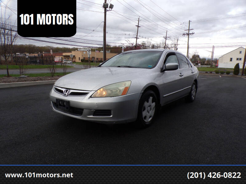 2006 Honda Accord for sale at 101 MOTORS in Hasbrouck Height NJ
