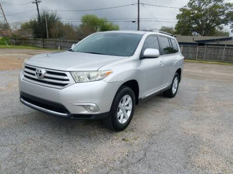 2013 Toyota Highlander for sale at MOTORSPORTS IMPORTS in Houston TX