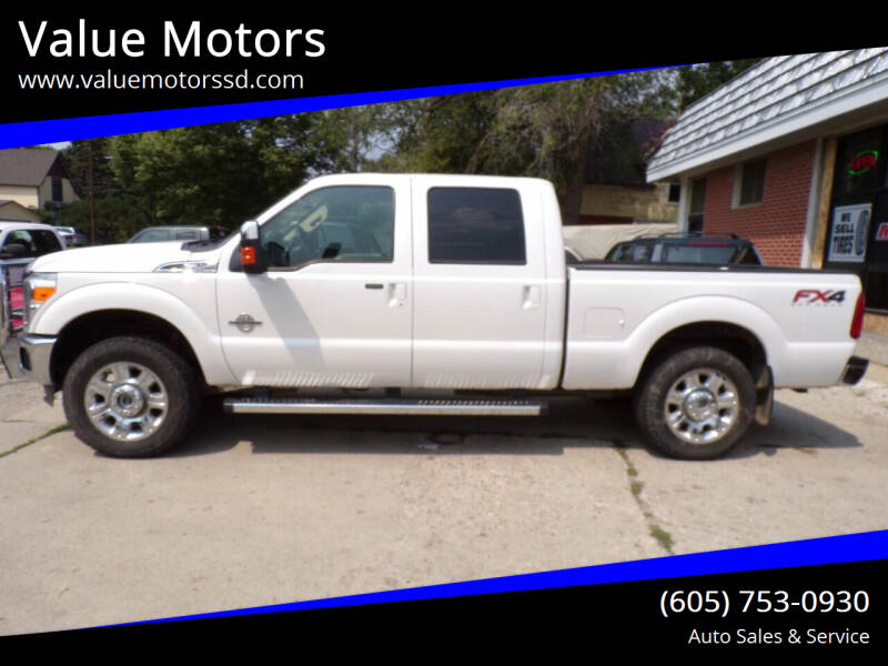 2012 Ford F-250 Super Duty for sale at Value Motors in Watertown SD