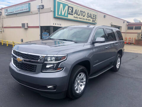 2018 Chevrolet Tahoe for sale at MR Auto Sales Inc. in Eastlake OH