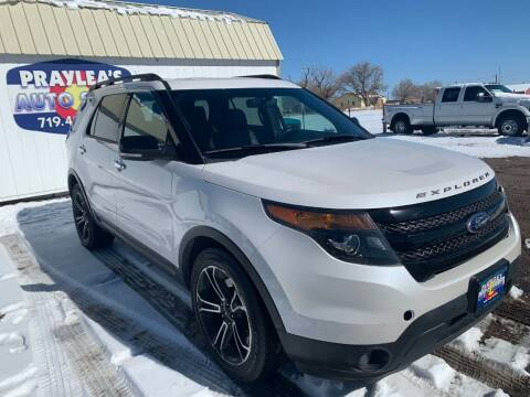 2014 Ford Explorer for sale at Praylea's Auto Sales in Peyton CO