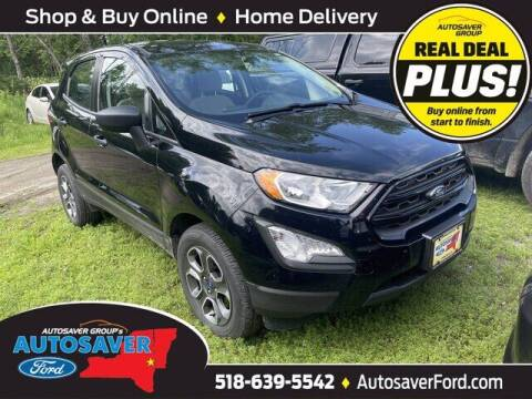 2018 Ford EcoSport for sale at Autosaver Ford in Comstock NY