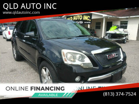 2010 GMC Acadia for sale at QLD AUTO INC in Tampa FL