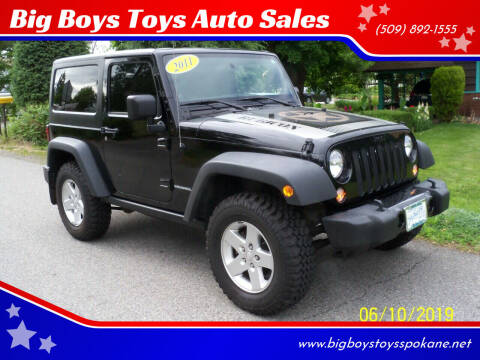 2011 Jeep Wrangler for sale at Big Boys Toys Auto Sales in Spokane Valley WA