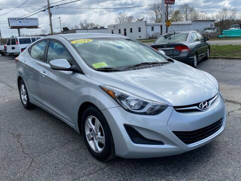 2014 Hyundai Elantra for sale at MetroWest Auto Sales in Worcester MA