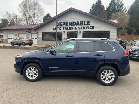 2016 Jeep Cherokee for sale at Dependable Auto Sales and Service in Binghamton NY