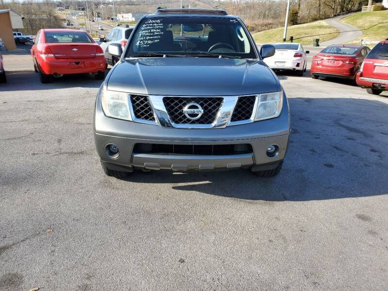 2005 Nissan Pathfinder for sale at DISCOUNT AUTO SALES in Johnson City TN