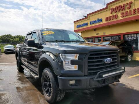 2017 Ford F-150 for sale at Popas Auto Sales in Detroit MI