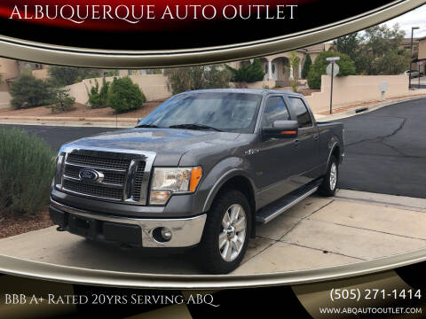 2011 Ford F-150 for sale at ALBUQUERQUE AUTO OUTLET in Albuquerque NM