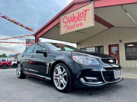 2017 Chevrolet SS for sale at Sandlot Autos in Tyler TX