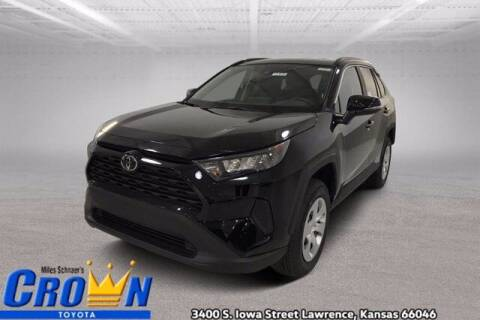 2021 Toyota RAV4 for sale at Crown Automotive of Lawrence Kansas in Lawrence KS
