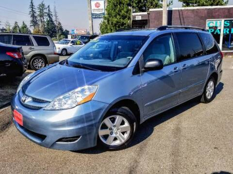 2006 Toyota Sienna for sale at SS MOTORS LLC in Edmonds WA