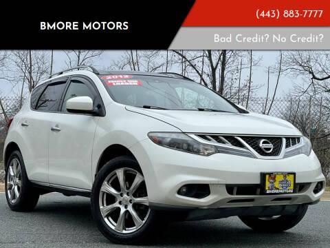 2012 Nissan Murano for sale at Bmore Motors in Baltimore MD