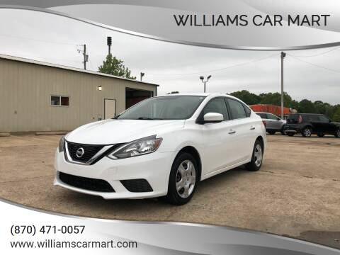2016 Nissan Sentra for sale at WILLIAMS CAR MART in Gassville AR