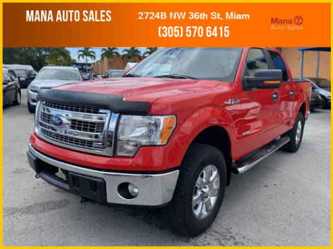 2013 Ford F-150 for sale at MANA AUTO SALES in Miami FL