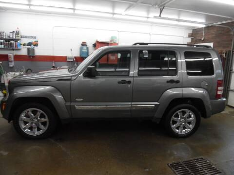 2012 Jeep Liberty for sale at East Barre Auto Sales, LLC in East Barre VT