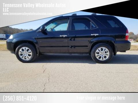 2003 Acura MDX for sale at Tennessee Valley Wholesale Autos LLC in Huntsville AL