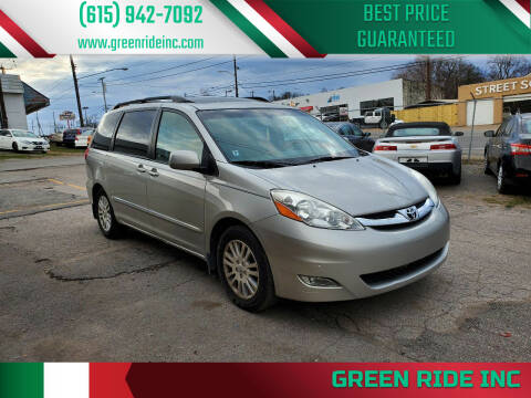 2008 Toyota Sienna for sale at Green Ride Inc in Nashville TN