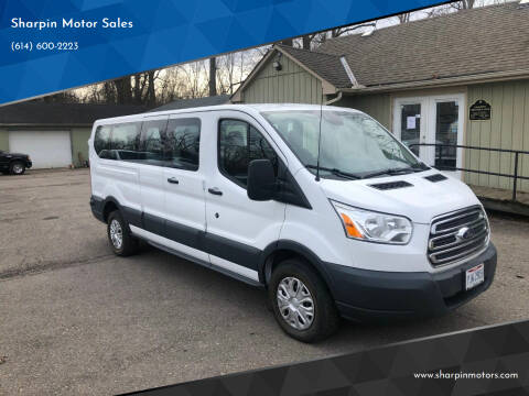 2016 Ford Transit Passenger for sale at Sharpin Motor Sales in Columbus OH