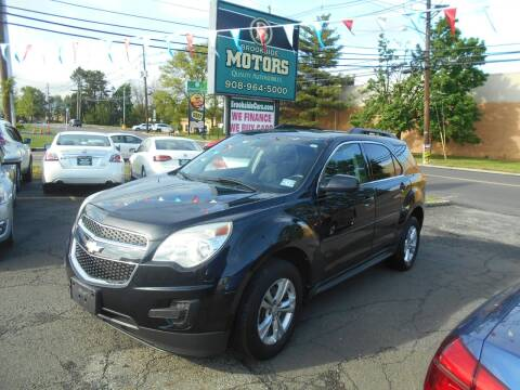 2012 Chevrolet Equinox for sale at Brookside Motors in Union NJ