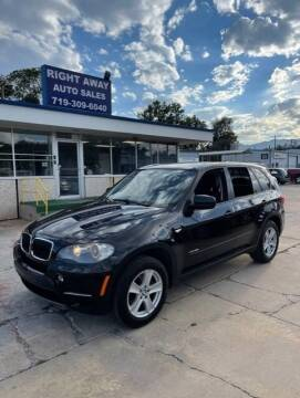 2011 BMW X5 for sale at Right Away Auto Sales in Colorado Springs CO