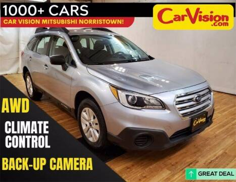 2017 Subaru Outback for sale at Car Vision Buying Center in Norristown PA