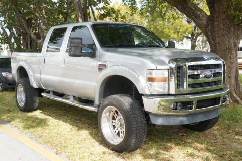 2010 Ford F-250 Super Duty for sale at Meru Motors in Hollywood FL
