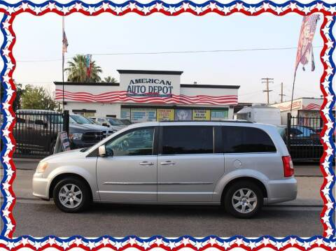 2011 Chrysler Town and Country for sale at American Auto Depot in Modesto CA