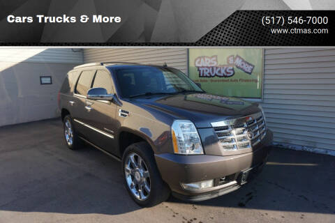 2011 Cadillac Escalade for sale at Cars Trucks & More in Howell MI