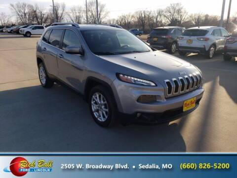 2014 Jeep Cherokee for sale at RICK BALL FORD in Sedalia MO