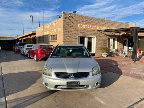 2007 Mitsubishi Galant for sale at CONTRACT AUTOMOTIVE in Las Vegas NV
