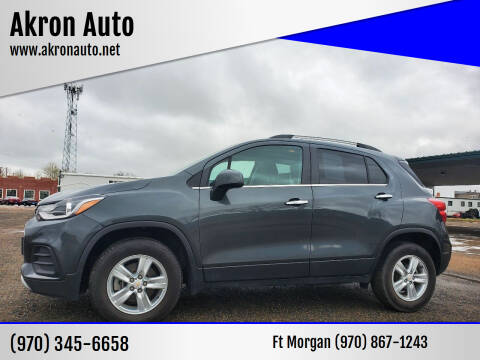 2018 Chevrolet Trax for sale at Akron Auto in Akron CO