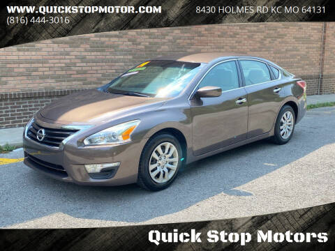 2013 Nissan Altima for sale at Quick Stop Motors in Kansas City MO